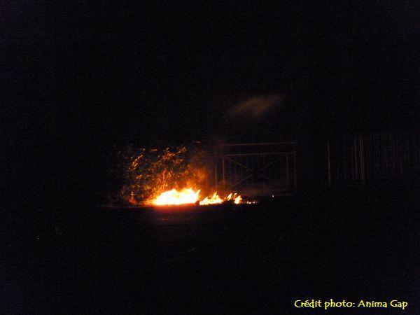 Un départ d'incendie vite maîtrisé