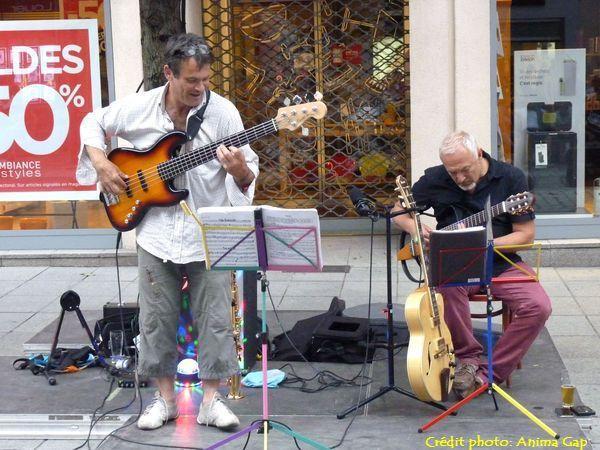 Jazz à Van, rue Carnot