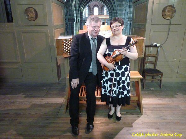 Roman PERUCKI (orgue) et Maria PERUCKA (violon)