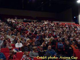 Un peu plus de 500 spectateurs, en retrait par rapport à 2014