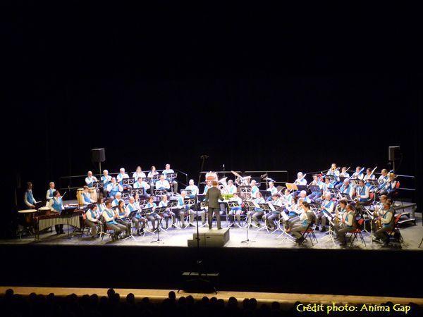 L'orchestre d'harmonie de la Ville de Gap
