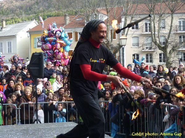 Carnaval des Alpes 2016 à Gap