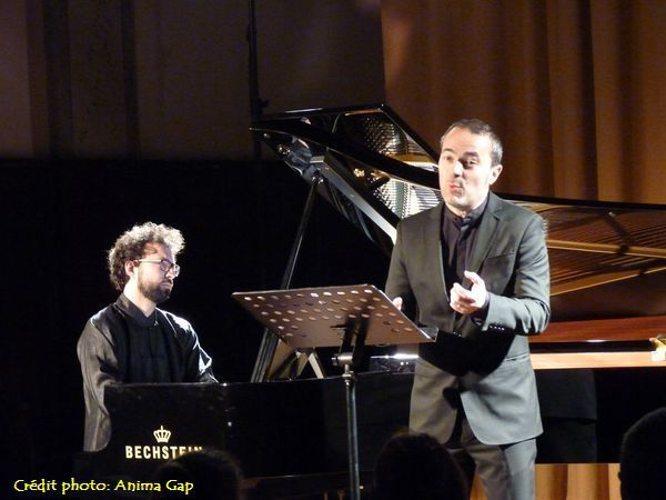 Simon ZAOUI (pianiste) et David LEFORT (ténor)