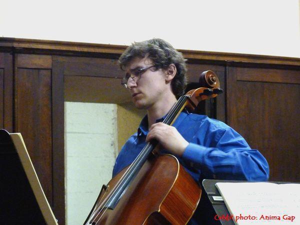 Maxime GILBERT au violoncelle