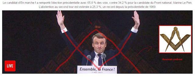 Emmanuel Macron : « J'ai été sélectionné par le Groupe Bilderberg. Il n'y a pas de démocratie à proprement parler en France. » - 05/2017.