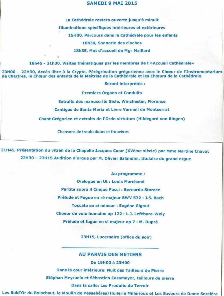 Des manifestations cette fin de semaine à Bourges