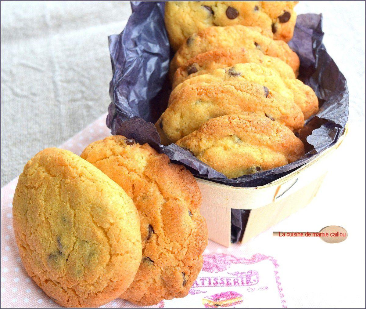 Des Cookies au chocolat...car il n'y a pas que les enfants qui aiment ça
