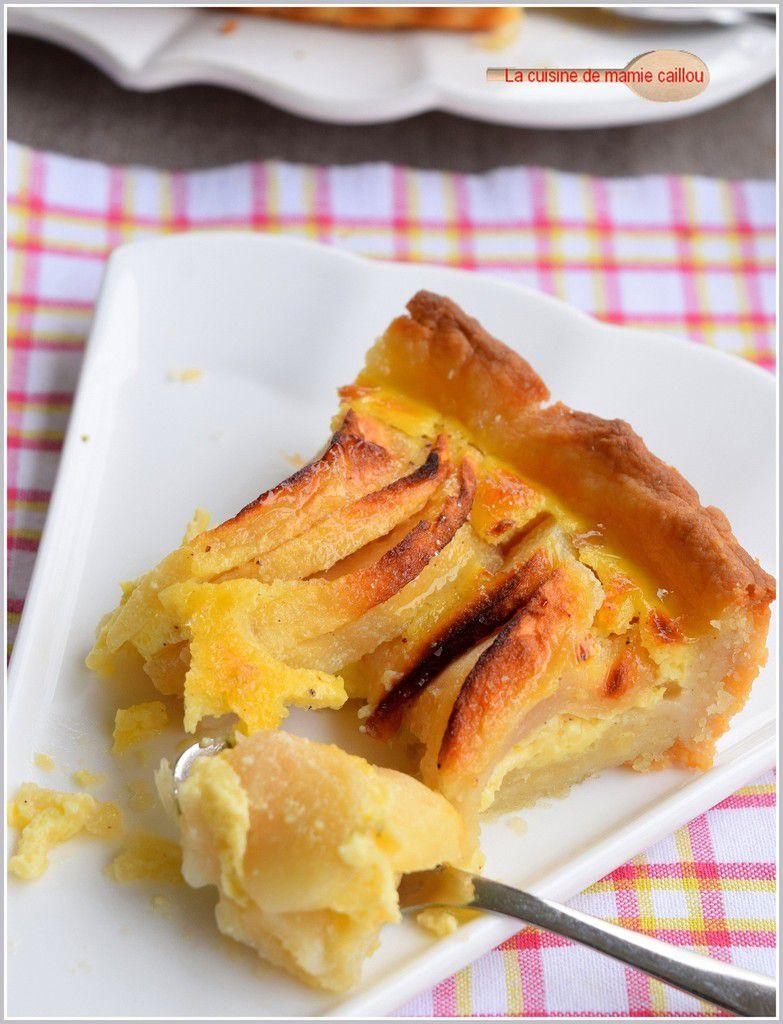 Tarte gourmande aux pommes...c'est encore les vacances, il faut en profiter !