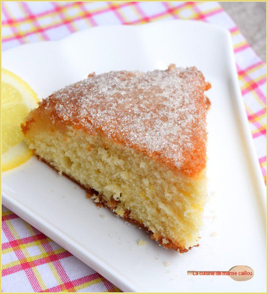 Le gâteau au citron le plus simple et le plus rapide à préparer que je connaisse...