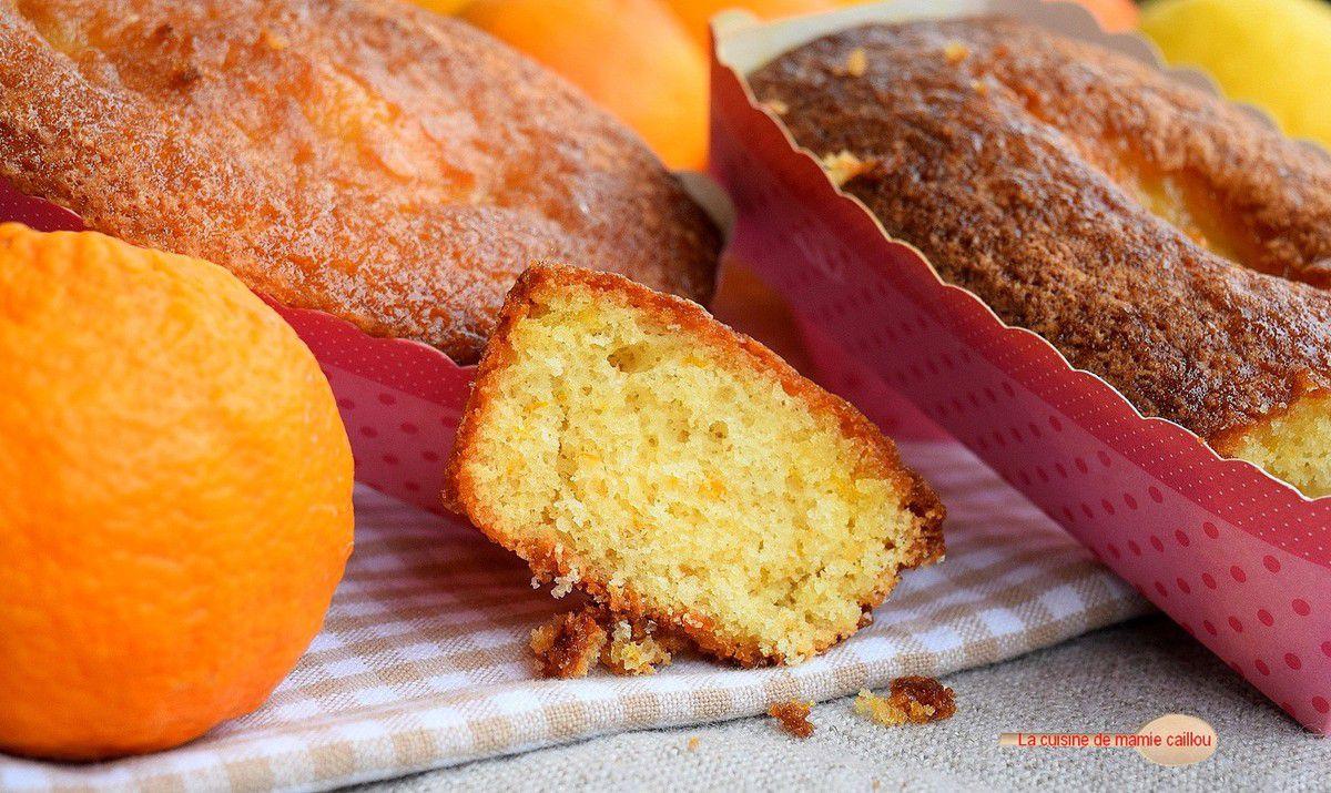 Petits cakes à l'orange et au citron
