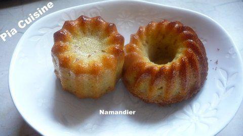 Namandier .... gâteau aux amandes