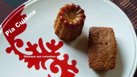 Gâteaux aux noisettes...