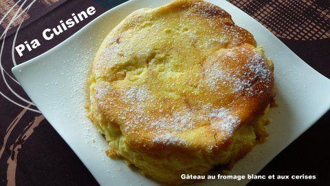 Kirsch-Quark Kuchen