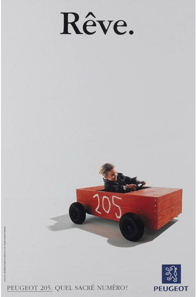 Caisse à savon Peugeot 205 'Rêve' au 1/43