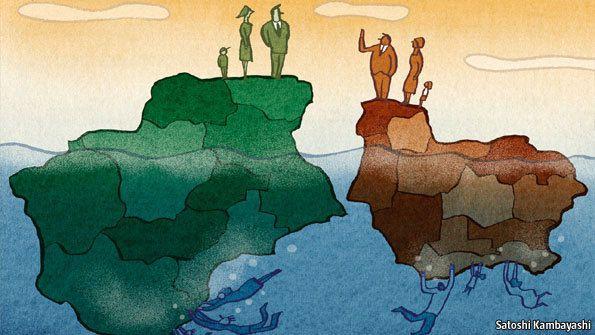 Comment ont évolué les inégalités régionales dans les pays développés ?