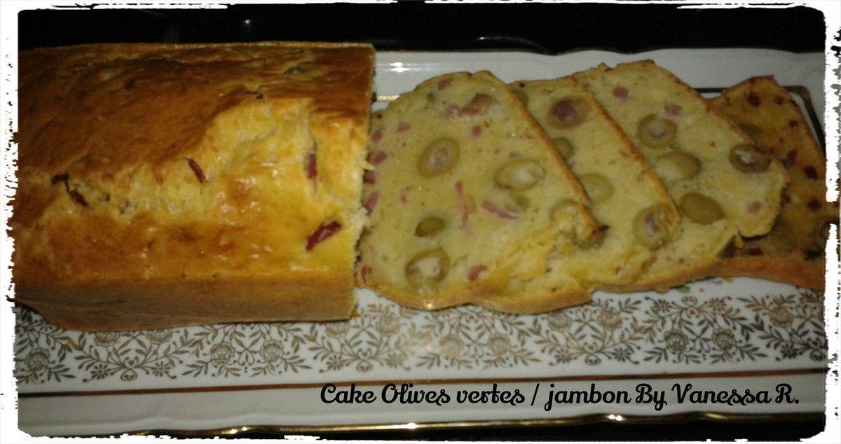 cake olives vertes jambon les recettes de vanessa. Black Bedroom Furniture Sets. Home Design Ideas