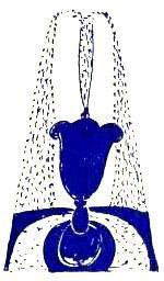 fontaine noire 150X256