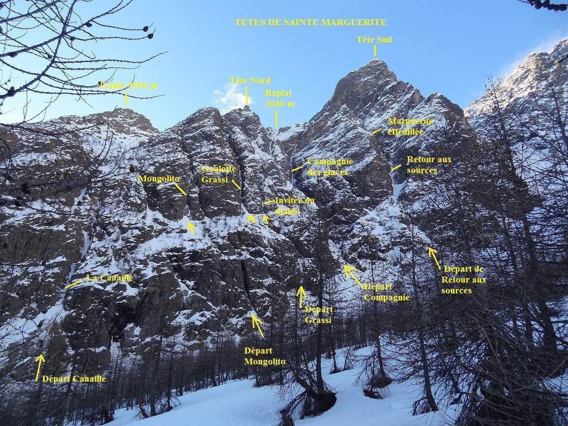 Vue générale du massif