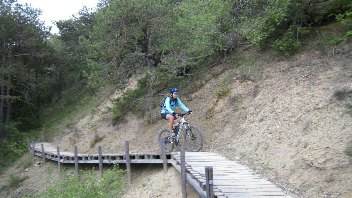 Le premier jour au départ des Chabannes environ 35 km dans la forêt domaniale du Prieuré. Un rêve pour VTT, que des petits chemins en montée et descente, mais circuit qui est trés physique.