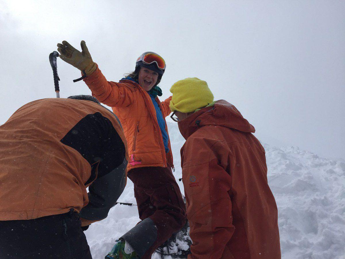 sortie ski au dessus de Guillestre
