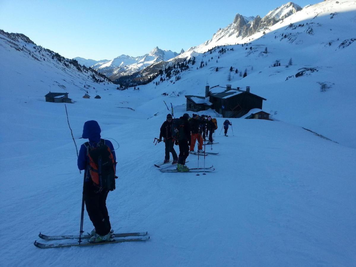Stage initiateur ski de randonnée 2016
