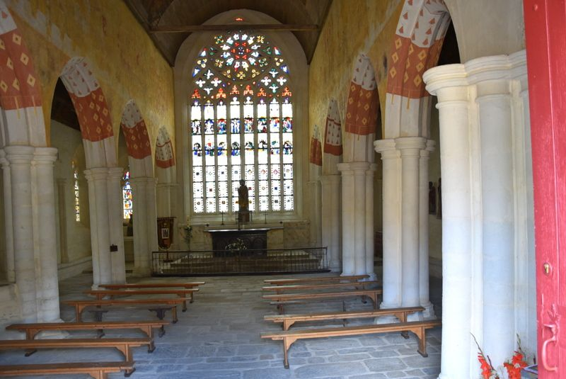 MERLAC (22) : LA CHAPELLE SAINT-JACQUES...