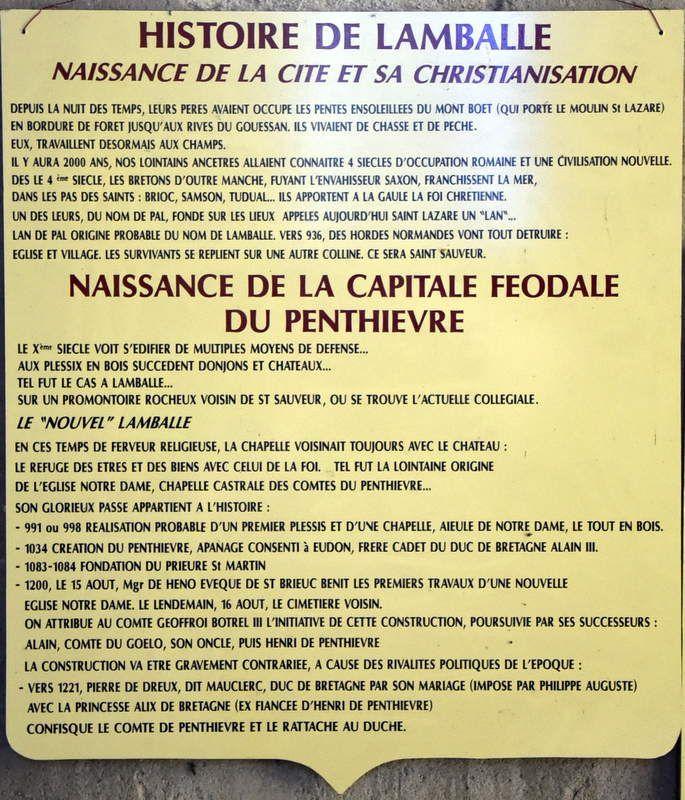 LAMBALLE 2 : LES NOUVEAUX VITRAUX DE LA COLLEGIALE NOTRE DAME...