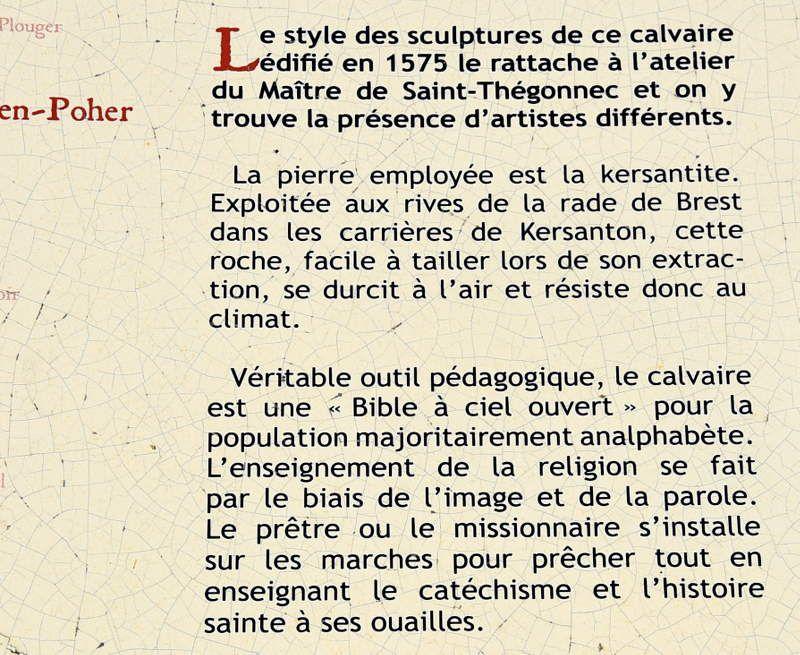 DECOUVERTE OU REDECOUVERTE DE LA HAUTE CORNOUAILLE (ou  du POHER)...