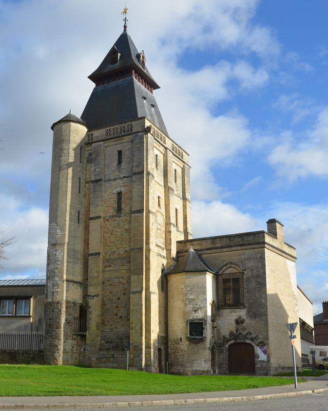 ABBEVILLE - RUE - LA VALLEE DE L'AUTHIE - CRECY.