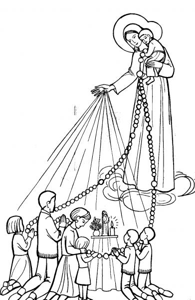 Jean le Messager d'Espérance :Le Rosaire, prière biblique...