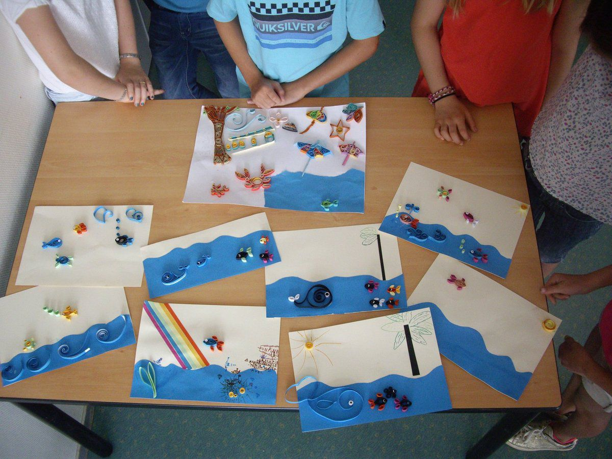 Atelier Quilling (paperolles) 11-14 ans