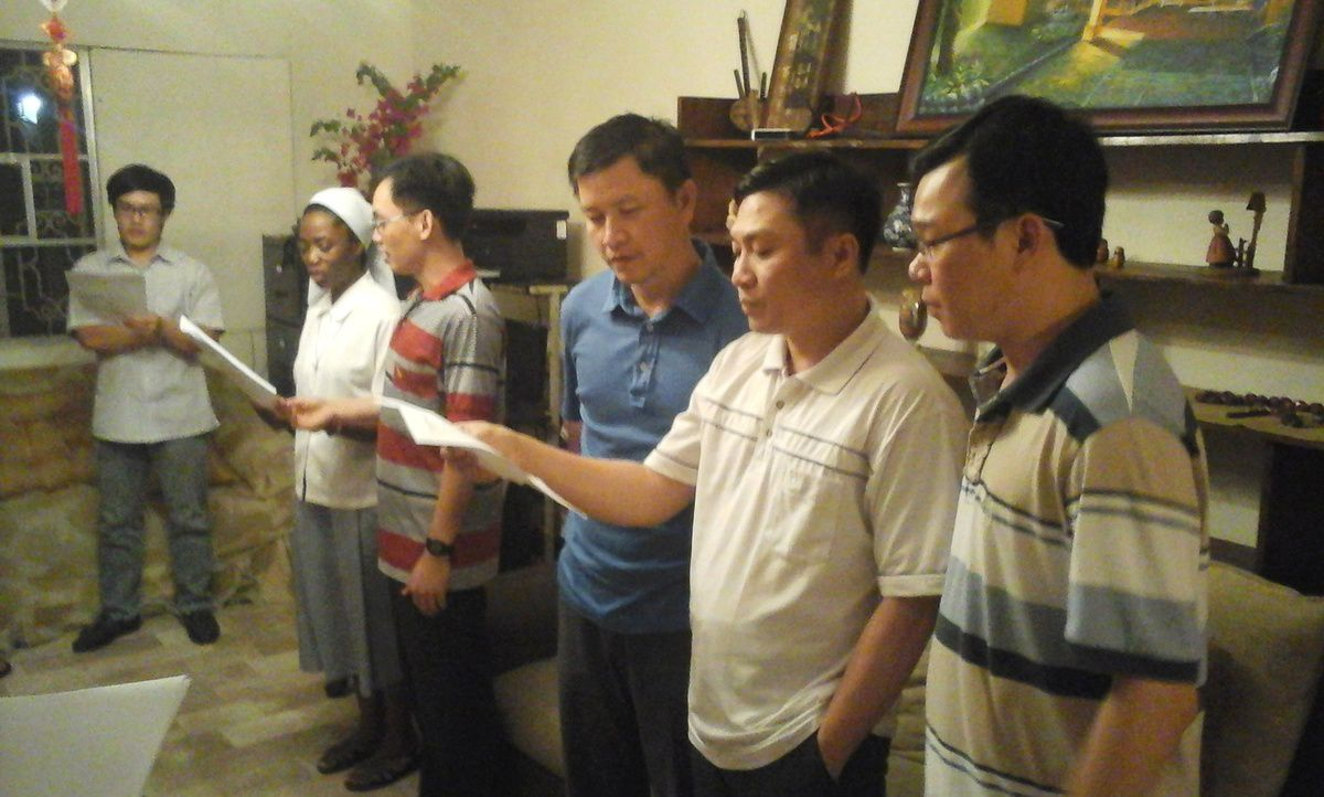 Tet aux Philippines, visit of the Spiritan confreres