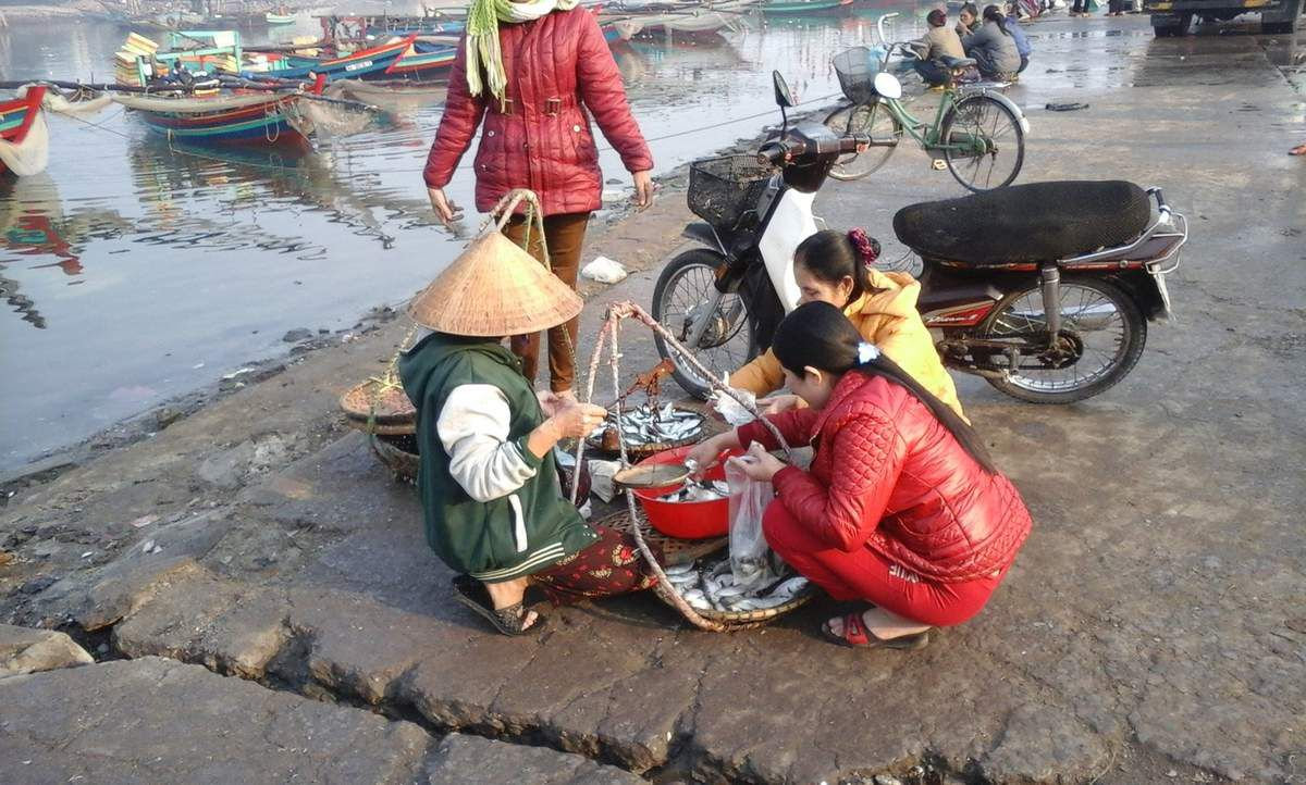 In Vietnam, the see is never far... Farmers or Seemen, life is tough for many people.