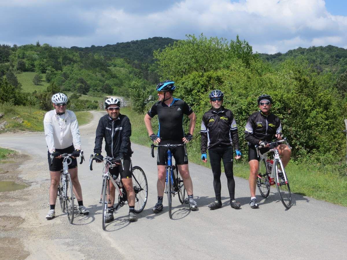 Retour dans les Corbières: La Redoulade, le col de La Fage et ce sera la fin: 115 km à 21km/h