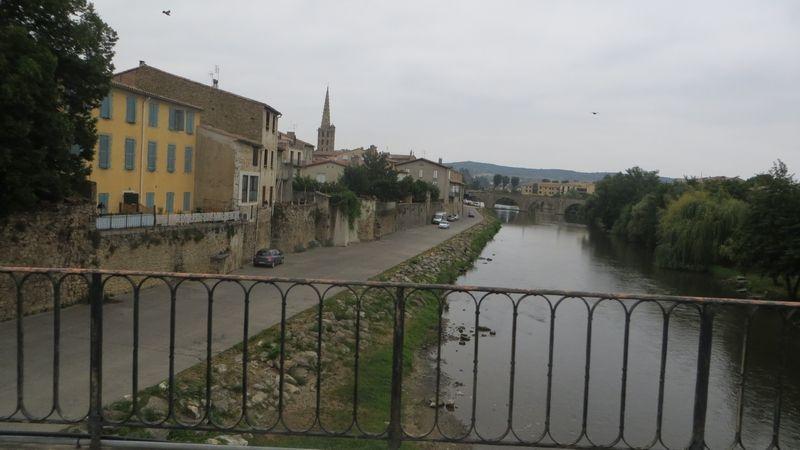 Mercredi 17 août, longue pont d'Orbieu et la Jalabert le 20 Août