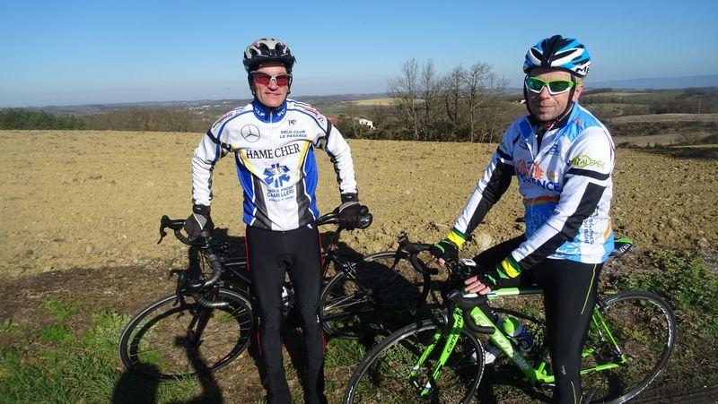 Un circuit d'entrainement pour le cyclo club de Balma!