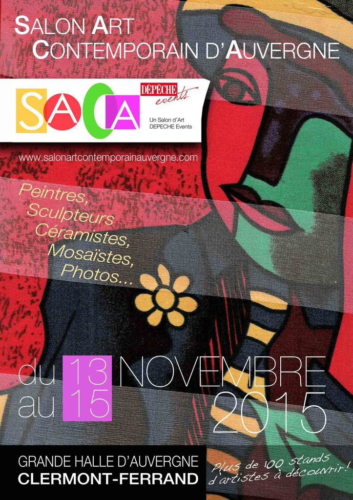 manifestation : salon d'art contemporain 2015 - halle des expositions - Clermont Ferrand