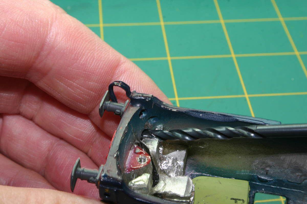 Usiner en profondeur (1à 2 mm) afin de bien loger les leds.