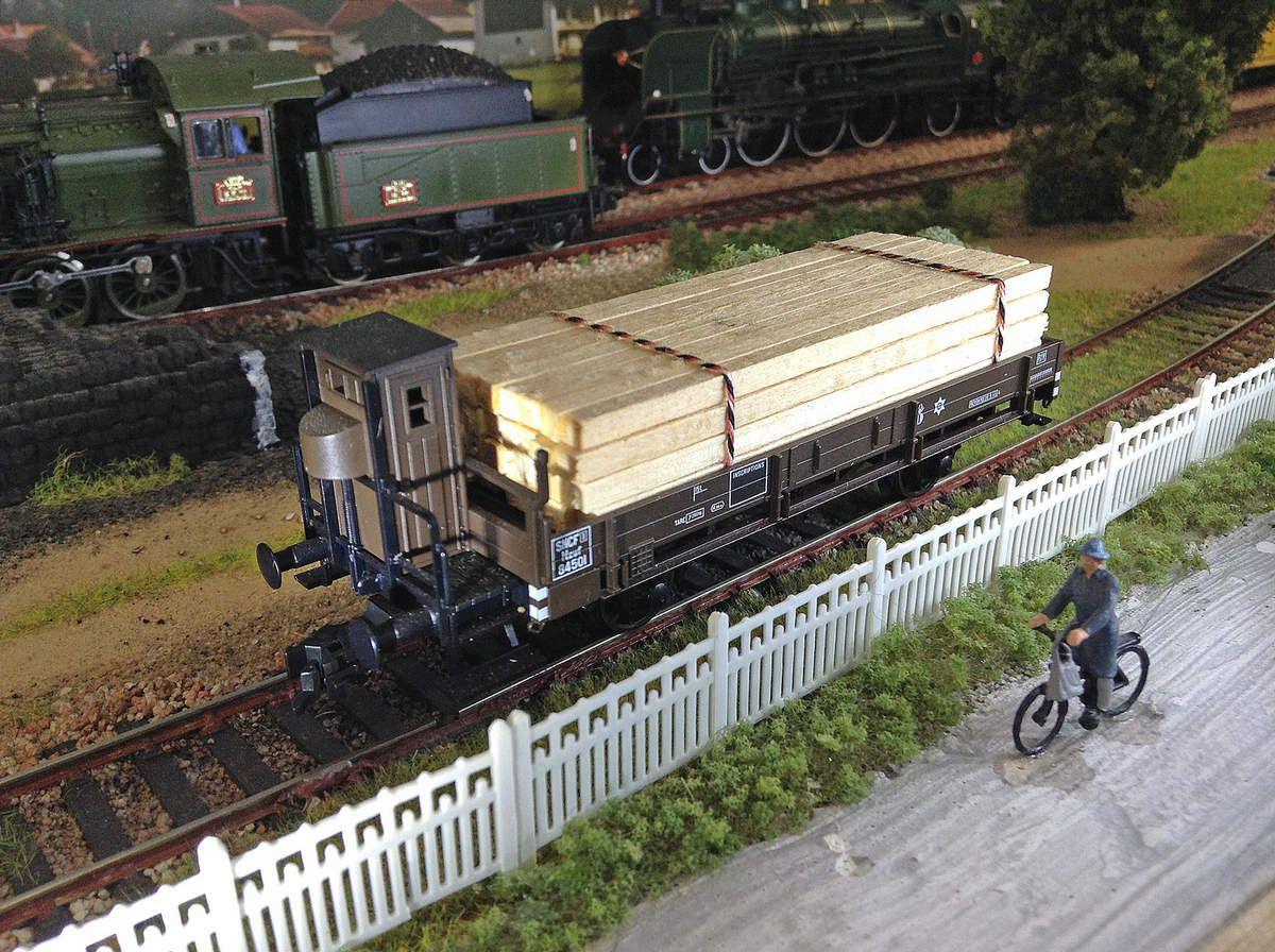 Wagon Fleischmann réf.5254F.