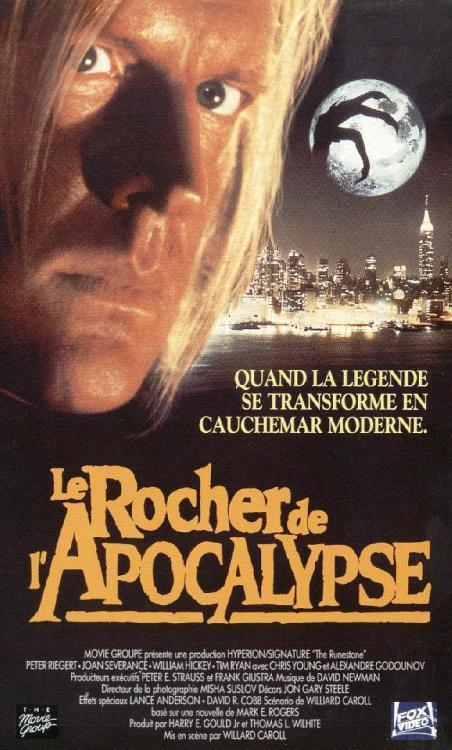 Le Rocher de l'Apocalypse taillé par Gô Nagaï