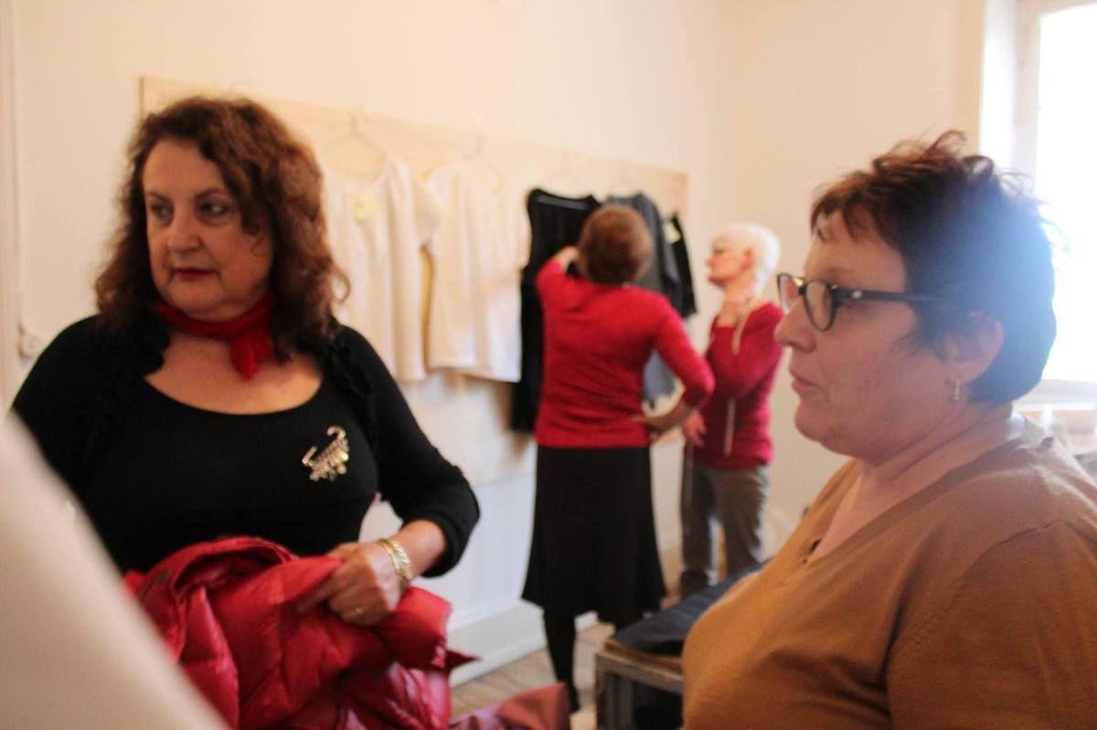 L'atelier couture en plein boom