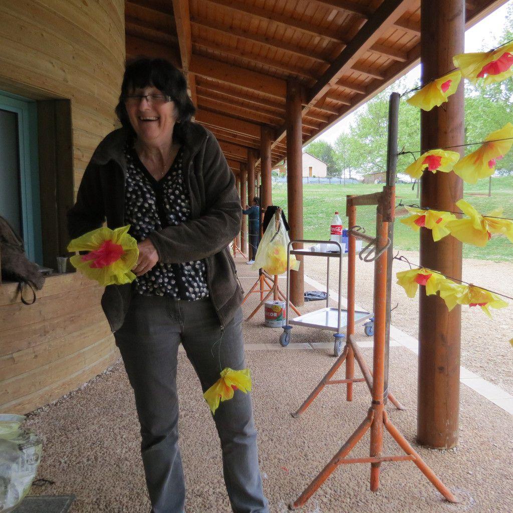 Ateliers Fleurs et Guirlandes à LA DOUZE