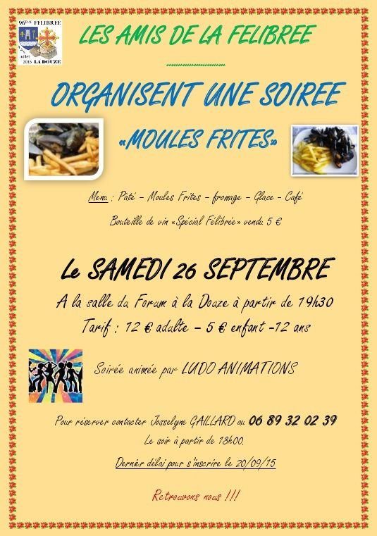 SOIREE MOULES-FRITES
