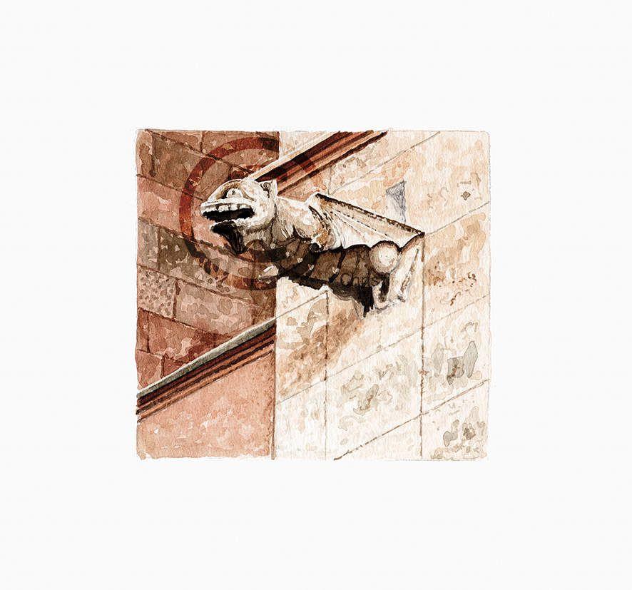ES017 - Gargouille - Cathédrale de Majorque