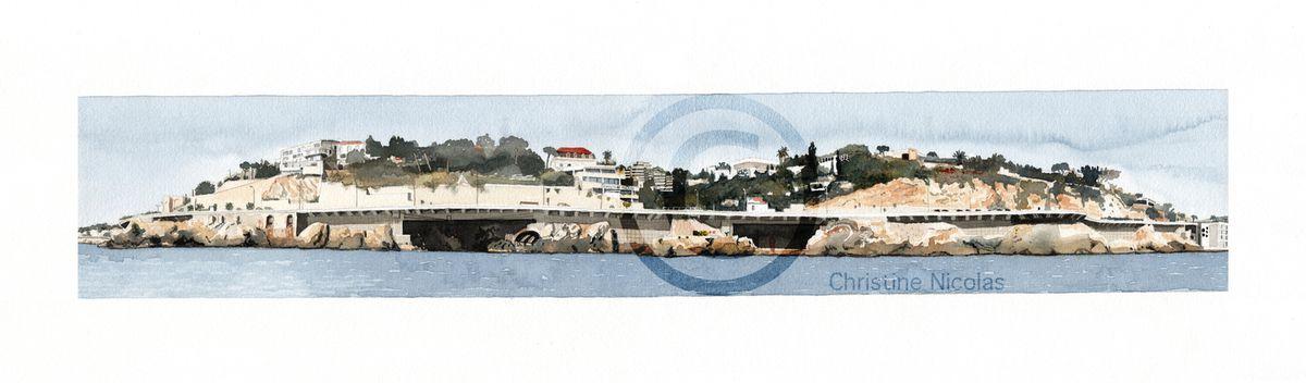 119.120 - La corniche - Pointe du Roucas Blanc