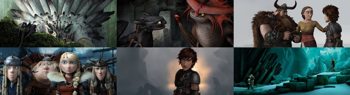 Les films Dragons
