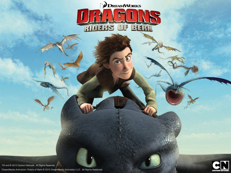 La série TV Dragons