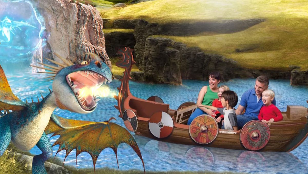 [DreamWorks] Parc d'attraction Dragons en Allemagne