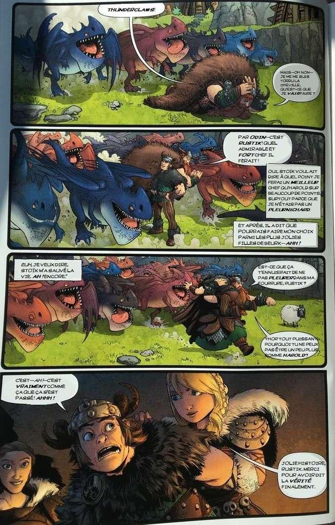 [BD] Bande dessinée gratuite Dragons: Burning Midnight (Edit : VF)