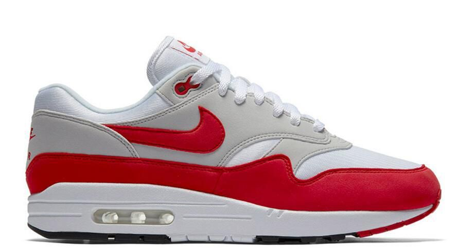 Nikelab Air Max 1 OG Red 2017 Les Boutique Nike Pas cher